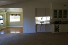 great room towards kitchen