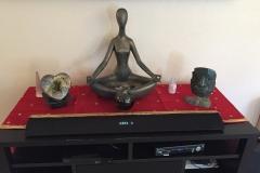 Family room altar