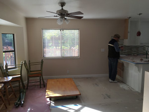 breakfast nook green is gone